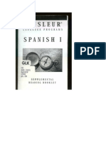 Spanish I Booklet