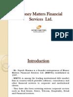 Money Matters Financial Services Pvt Ltd