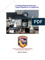 2011 Hydro Test Master Manual
