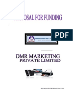 Project Report of DMR Marketing Limited