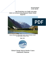 Climate Change Projections Over South Asia Under SRES A2 Scenario Using Regional Climate Model RegCM3(GCISC-RR-08)
