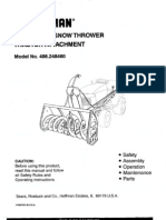 Snow Blower Manual