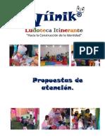 Wíinik® PROPUESTAS DE ATENCIÓN ESCOLARES