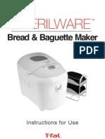 Bread Maker Instructions