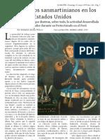 Documentos San Martinianos en Los Estados Unidos