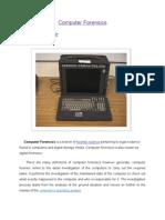 Computer Forensics Semiarn