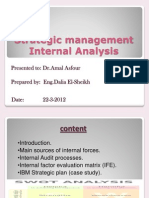 St.internal Analysis & IBM St.plan Final Ppt Mid Term Case