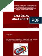 Aula Microbiologia - Bacterias Anaerobias