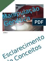 Manipulação Genética
