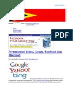 an Google, Yahoo Dan Facebook