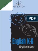 k6 English Syl