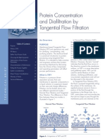 MILLIPORE - Protein Concentration and Diafiltration by Tangential Flow Filtration