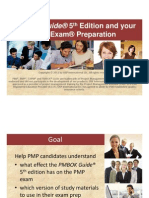 Release and impact of The PMBOK Guide 5th Edition in 2012