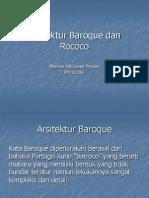 Baroque Dan Rococo