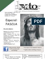 Boletín Parroquial Cristo Redentor n°28 Pascua