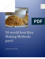 50 World Best Rice Making Methods {Part-1}