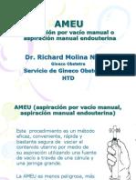 Charla Ameu. Dr. Molina