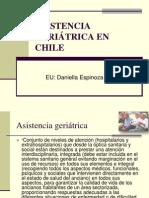 ASISTENCIA GERIÁTRICA EN CHILE