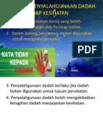 2.8 Kesan Penyalahgunaan Dadah Terhadap Koordinasi Badan Dan Kesihatan