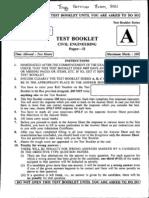 Civil Engineer Paper II Objective