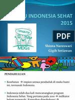 Menuju Indonesia Sehat 2015 by