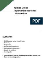 Tema 1 Impotancia Dos Testes de Bioquimica