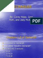 Zechariah Power Point