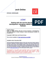 Dealing With Dirt and the Disorder - LSERO Version