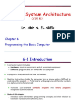 Computer Architecture Chapter 6