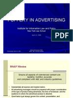 Puffery in Advertising