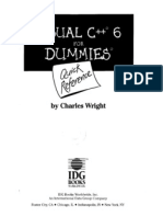 Visual c++ for Dummies