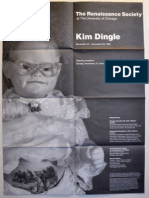 Kim Dingle Exhibition Poster