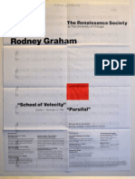 Rodney Graham Exhibition Poster