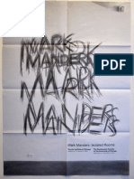 Mark Manders Exhibition Poster