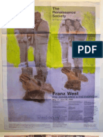 Franz West Exhibition Poster