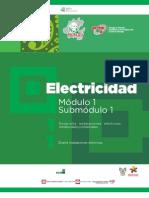 Guía formativa. ELECTRICIDAD 11. CECyTEH Gobierno Hidalgo 2012