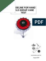 Shear Vane Guidelines