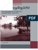 Water Recycling 2030 - ions of California Recycled Water Task Force