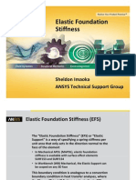 Elastic Foundation Stiffness