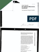 Armin Nassehi - Die Funktional Differenzierte Gesellschaft (02.06.08)