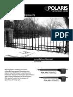 Polaris 500,700 Swing Gate Opener_InstallationManual1