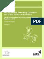 WID Waste Incineration Directive 2000-76-EC