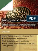 ( ZEKR ) - QURAN Desktop  Free Cross-Platform  Open-Source Application