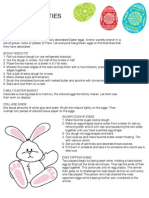 Egg Ideas, Games and Activities