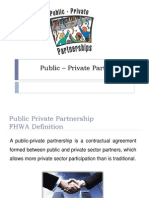 Public – Private Partnership