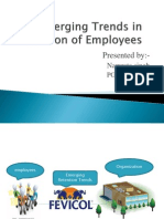 Emerging Trends in Retention of Employees