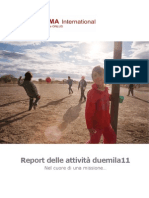 Report delle attività duemila11 - FUNIMA International