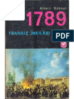 Albert Soboul 1789 Fransız İnkilabı Tarihi  1969