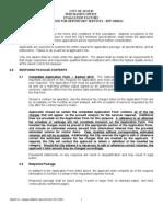 JSD0111 - Section 0600 Evaluation Factors