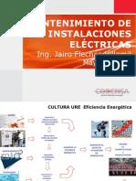 capacitacion mantenimiento de instalaciones eléctricas